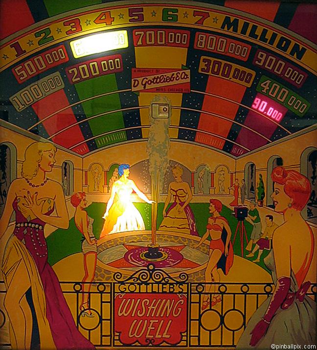 Wishing Well Pinball (1955 Gottlieb)