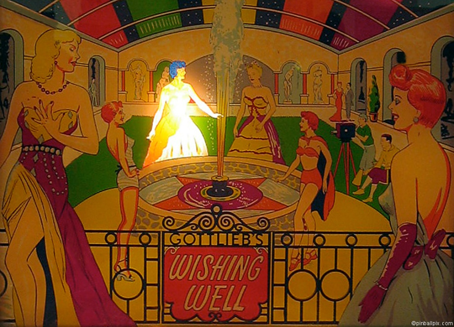 Wishing Well Pinball Wallpaper