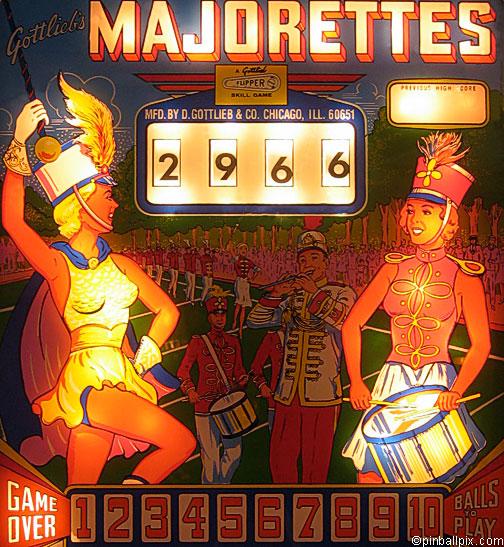 Majorettes Pinball (1964 Gottlieb)